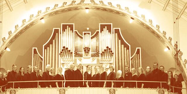 HJKK på orgelläktaren